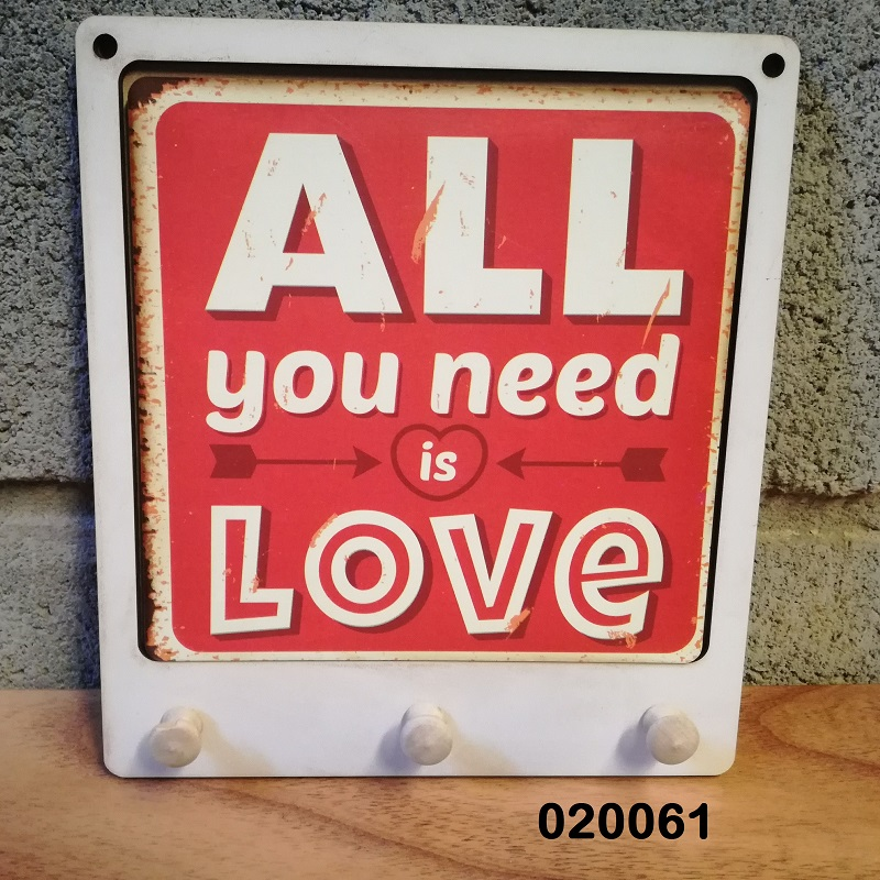 CUELGALLAVES ALL YOU NEED IS LOVE BLANCO